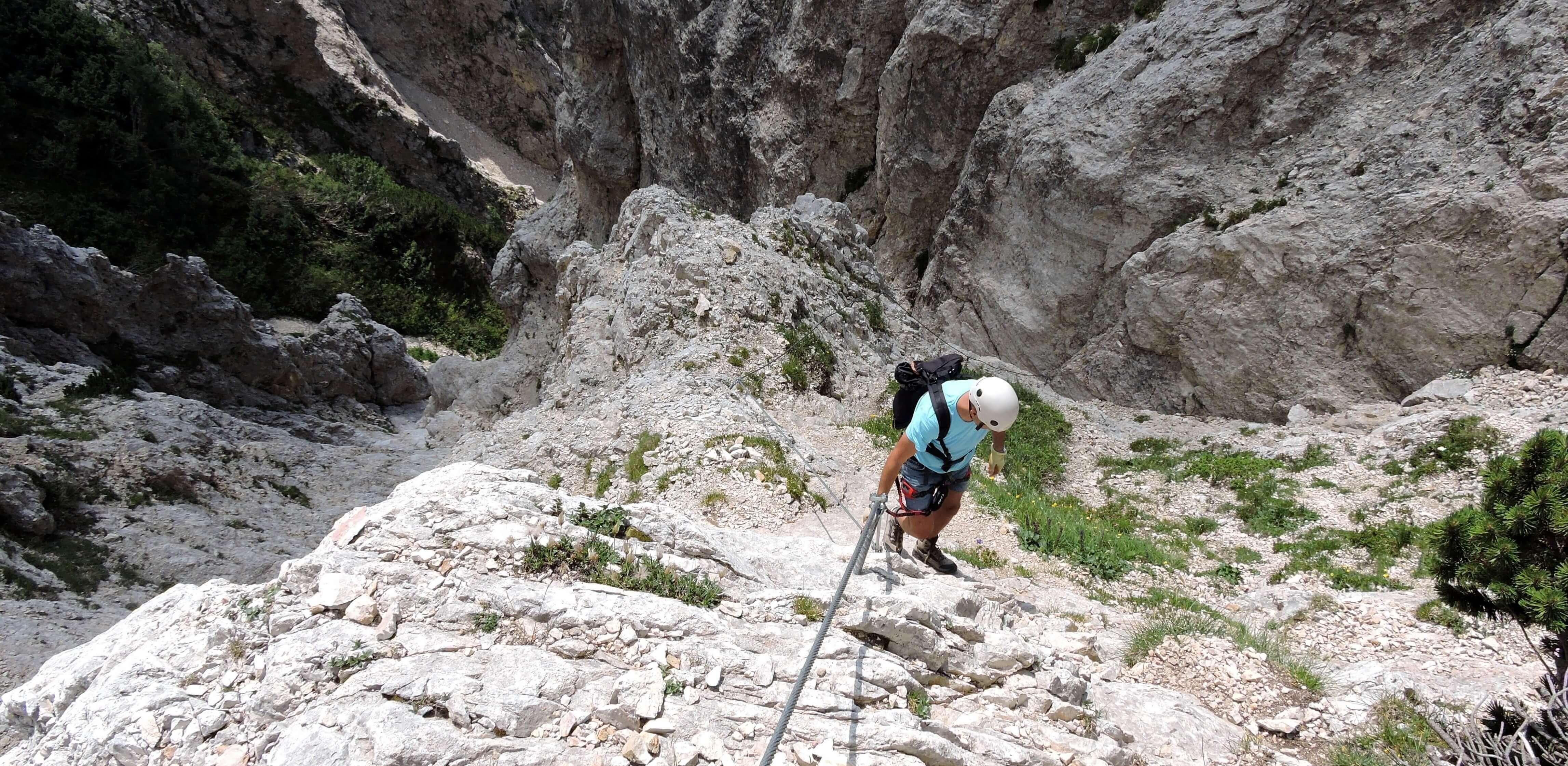 Einführung in die Welt der Klettersteige