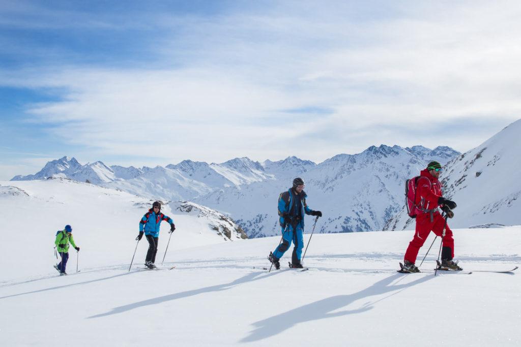 Freeride Camps am Arlberg mit Frosch Sportreisen