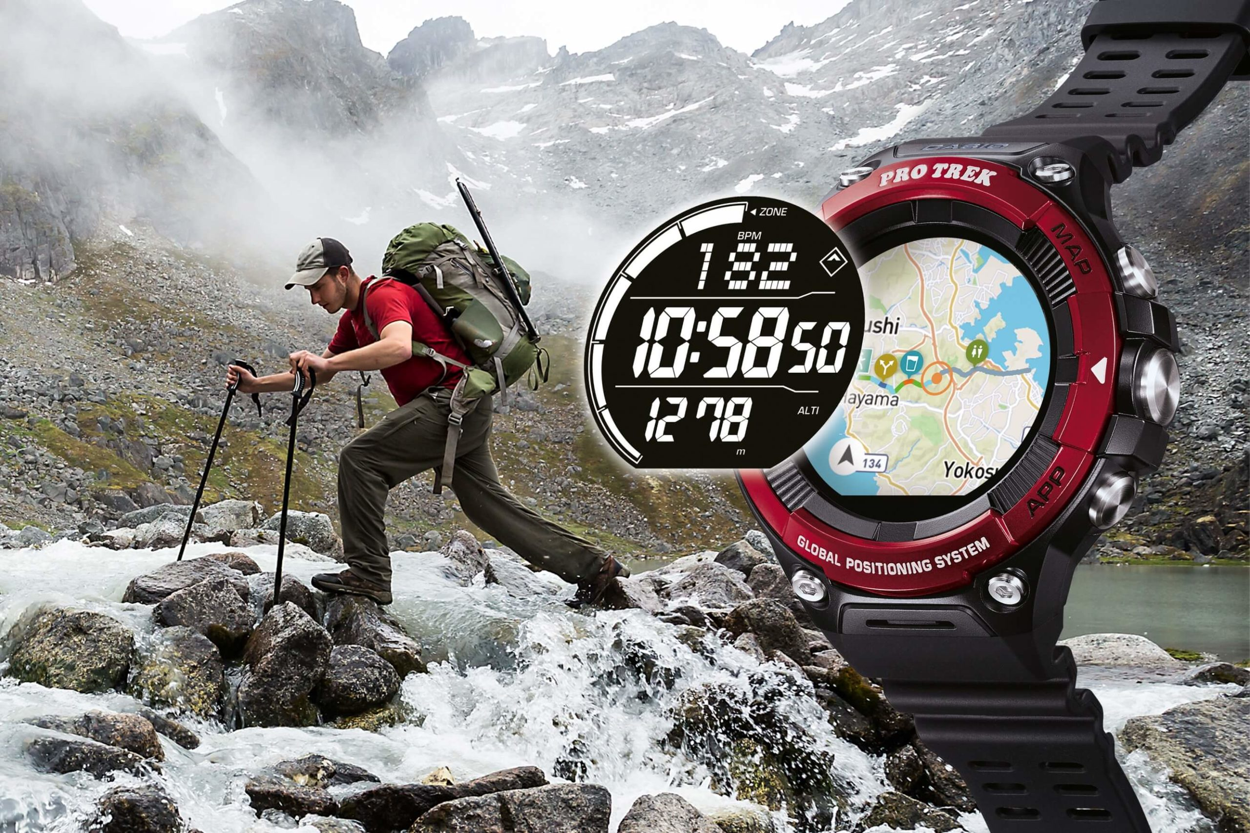 Tested by CAMPZ - Casio Pro Trek Smartwatch