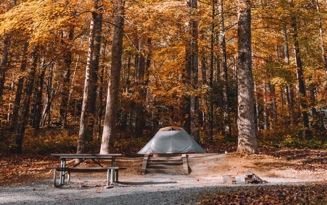 Camping im Herbst - Tipps für die kälteren Jahreszeiten