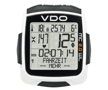 VDO Fahrradcomputer bei CAMPZ