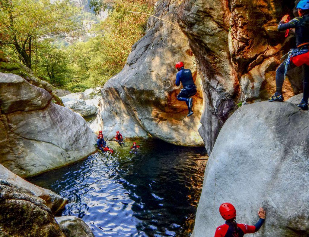 Mini-Abenteuer - Canyoning