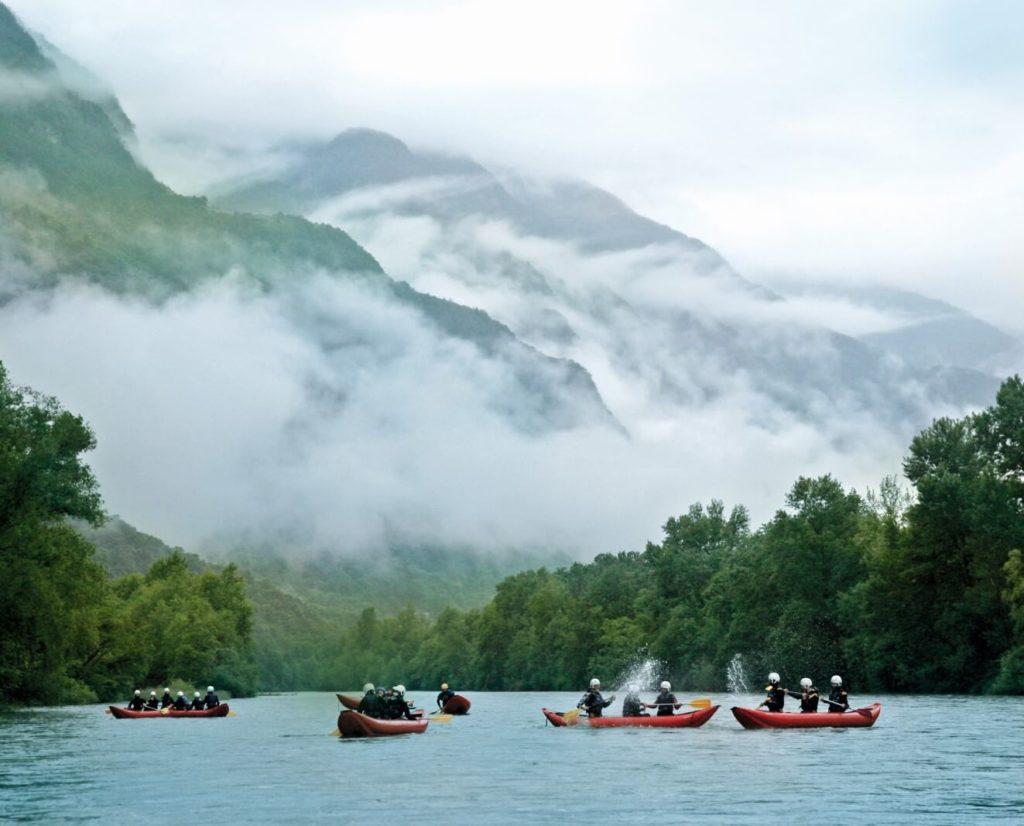 Kajaktour: Auf der Ticino im Tessin