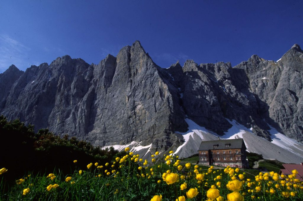 Hüttenwanderung Karwendeltour, Österreich