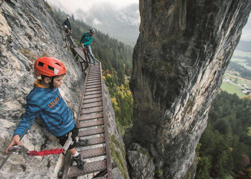 Mini-Abenteuer - Klettersteig
