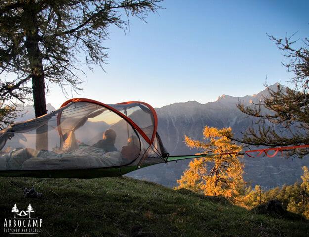 Mini-Abenteuer - Eine Nacht im Baumzelt