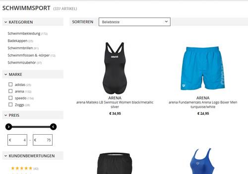 Schwimmsport Shop CAMPZ