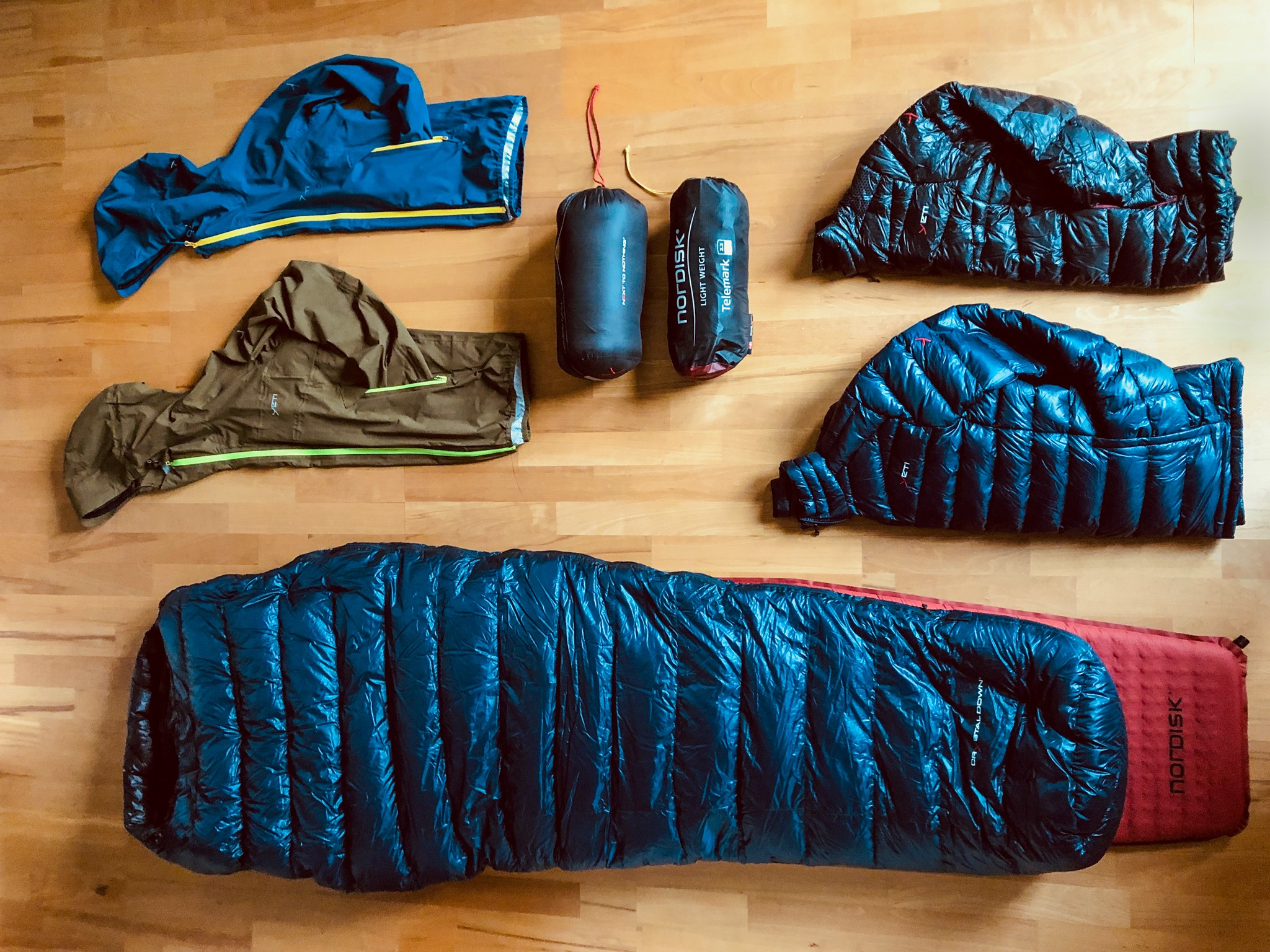 Tested by CAMPZ: Ultralight Trekking Set-up von Nordisk und Yeti